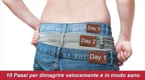 come perdere peso velocemente mangiando bene i testimoni