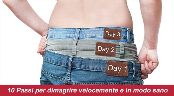 Diete Veloci 10 Kg In 2 Settimane : Come dimagrire in una settimana passi per dimagrire