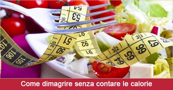 come perdere peso senza esercizi e dietetica